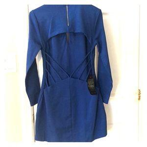 Blue Bebe open back dress